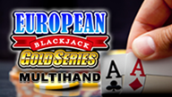 Игровой автомат Multi-hand European Blackjack Gold
